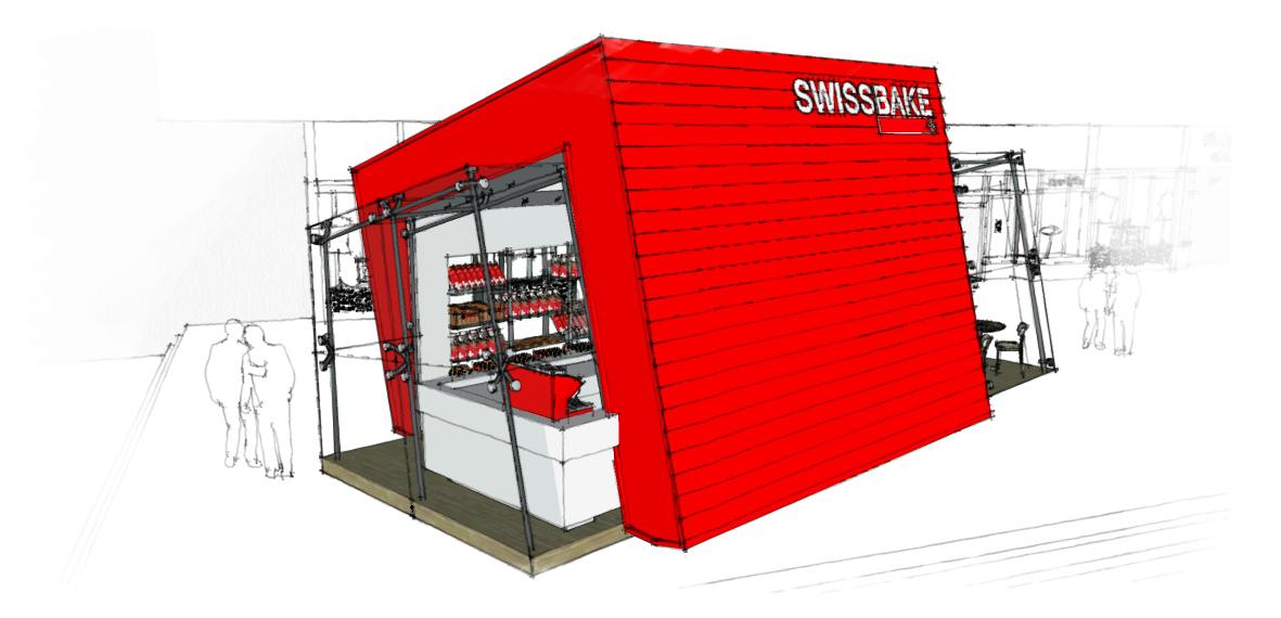 Swissbake Standalone: Various studies on space, operational and commercial requirements resulted in Spinnaker360 designing a more efficient standalone store. One that espouses the Swiss values of simplicity and elegance.